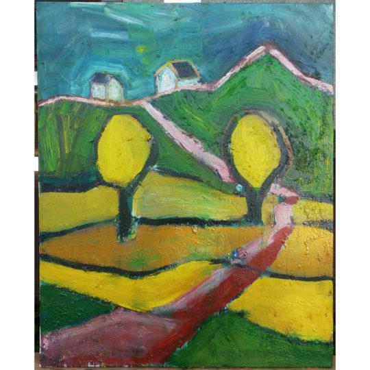 Viljelijän keltaiset pellot